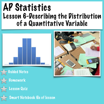 AP Statistics- Using Numbers to Describe Quantitative Data (Part 1)