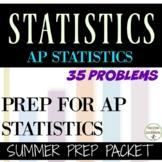 AP Statistics summer packet