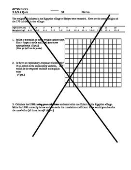 AP Stats Statistics Unit Bundle (Exploring Data) 4 Chapters, tests quizzes keys