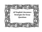 AP Strategies: A Writing Resource Packet