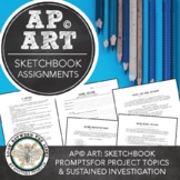 AP Studio Art, 22 Homework Assignments on Guided & Sustained investigation
