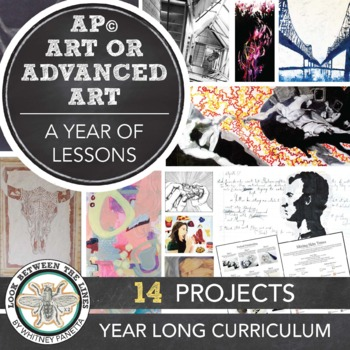 AP Studio Art Breadth Semester Curriculum: Everything You Need to Teach