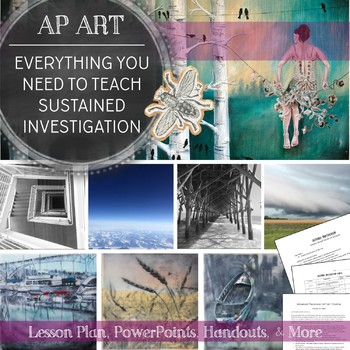 AP Studio Art Concentration Section: Everything You Need to Teach