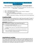 AP Studio Art Summer Assignment: AP Photo