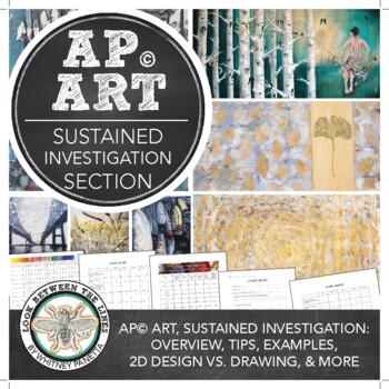 AP Studio Art Sustained Investigation Section for 2D Design, Drawing Portfolios