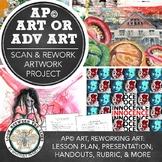 AP Studio Art or Advanced Art, Scan & Repurpose Project: Using Existing Artwork