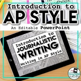AP Style (Associated Press) Teaching PowerPoint for Journa