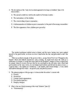 AP Style Charles Dickens Quiz