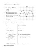 AP Style Free Response Questions - High School Mathematics