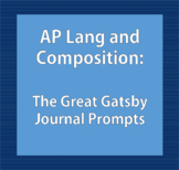 AP Style The Great Gatsby Journals