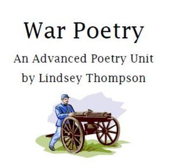 AP-Style / Honors War Poetry Unit