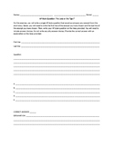 AP Style Question Template