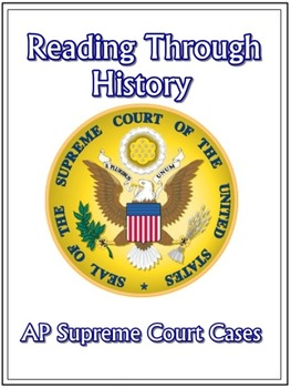 AP Supreme Court Cases Activities