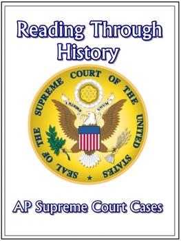 AP Supreme Court Cases Activities