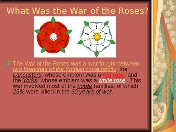 AP The Hundred Years War and War of the Roses: The War of the Roses