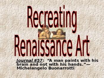 AP The Renaissance: Art Project