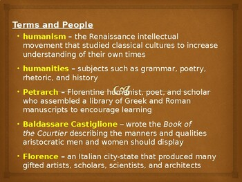 AP The Renaissance: Humanism and the Complete Man