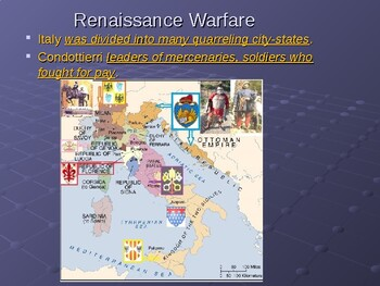 AP The Renaissance: The Popes and Renaissance Warfare