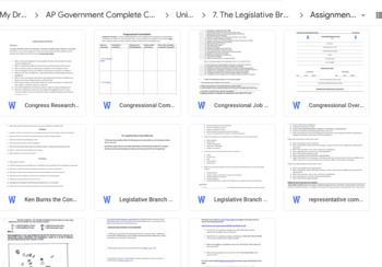 AP U.S. Government Complete Course 2018-2019 Redesign Ready