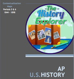 AP U.S. History Contextualization Maps for Periods 5 and 6