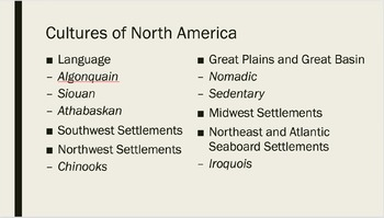 AP U.S. History Period 1 Notes and PowerPoint