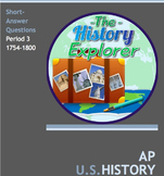 AP U.S. History Period 3 Short-Answer Questions