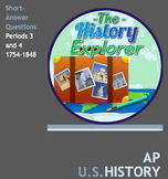 AP U.S. History Periods 3 and 4 Short-Answer Bundle