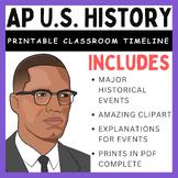 AP U.S. History Timeline (1492-2016)