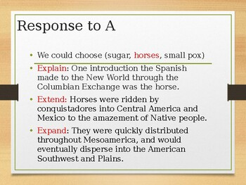AP U.S. Short Answer Explanation and Practice PPT Presentation