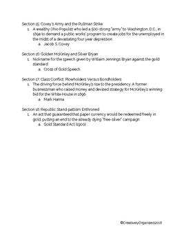 AP US American Pageant Chapter 26 Daily Reading Quiz