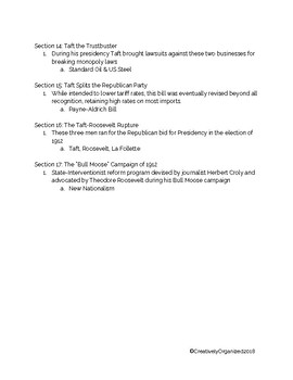 AP US American Pageant Unit 5: Chapter 28 Daily Reading Quiz