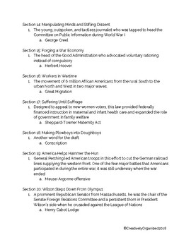 AP US American Pageant Unit 5: Chapter 29 Daily Reading Quiz