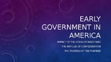 AP US Gov - Constitution and Foundations of America