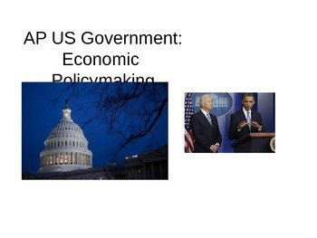 AP US Government Economics Introduction to Economic Policy