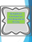 AP US Government REDESIGN Argument Essay Tip Sheet and Pre