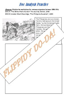 AP US Historty Thematic Review Booklet: War & Foreign Policy