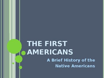 AP US History (APUSH) Chapter 1 Powerpoint:  Native Ams, Clash, Exchange