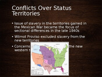 AP US History (APUSH) Chapter 13 PowerPoint:  Slavery Concerns, Lincoln