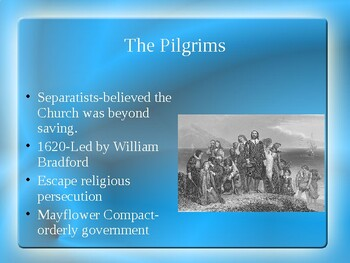 AP US History (APUSH) Chapter 2 PowerPoint:  Religions, Jamestown, Mercantilism
