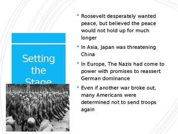 AP US History (APUSH) Chapter 25 PowerPoint:  WWII