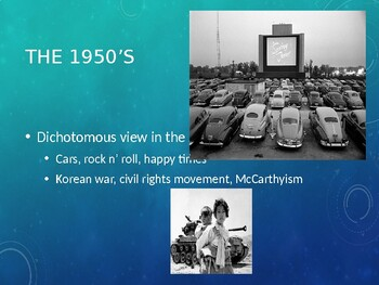 AP US History (APUSH) Chapter 27 PowerPoint:  Eisenhower, Cold War