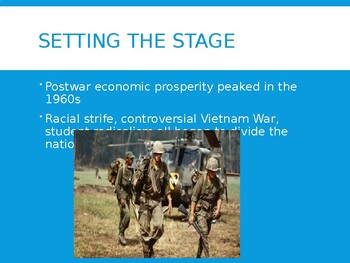 AP US History (APUSH) Chapter 28 PowerPoint:  Kennedy, Johnson, Counterculture