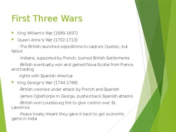 AP US History (APUSH) Chapter 4 PowerPoint:  Fr/In War, Road to Revolution