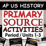 Primary Source Analysis Pack - AP US History / APUSH - Per