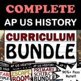 3 - AP US History / APUSH Full Curriculum Bundle - Full Ye