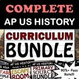 3 - AP US History / APUSH Full Curriculum Bundle - Full Ye