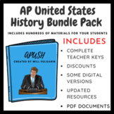 AP U.S. History Bundle Pack - Updated for 2018 Changes!