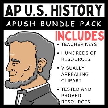 AP U.S. History Bundle Pack