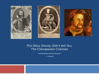 "AP US History: English Colonization ""What Disney Doesn't T"