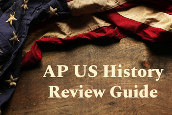 AP US History Exam Review: Plan, Review Assignments, and Diagnostic Tests